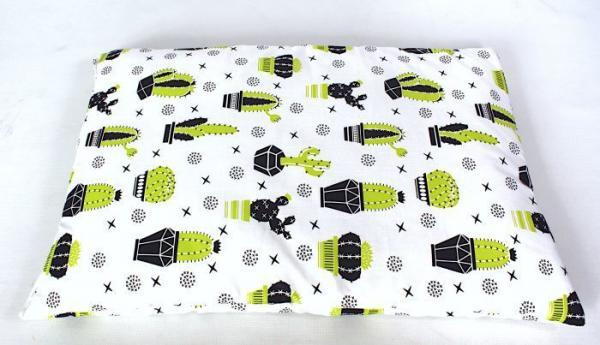płaska poduszka dla niemowląt